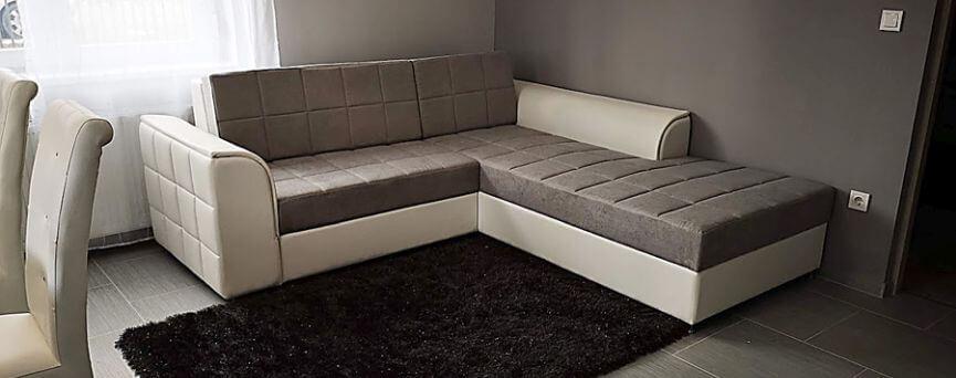 Stílusos megjelenésû ágyazható kanapék